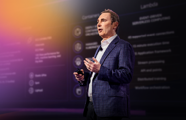 AWS re:Invent keynote with Andy Jassy