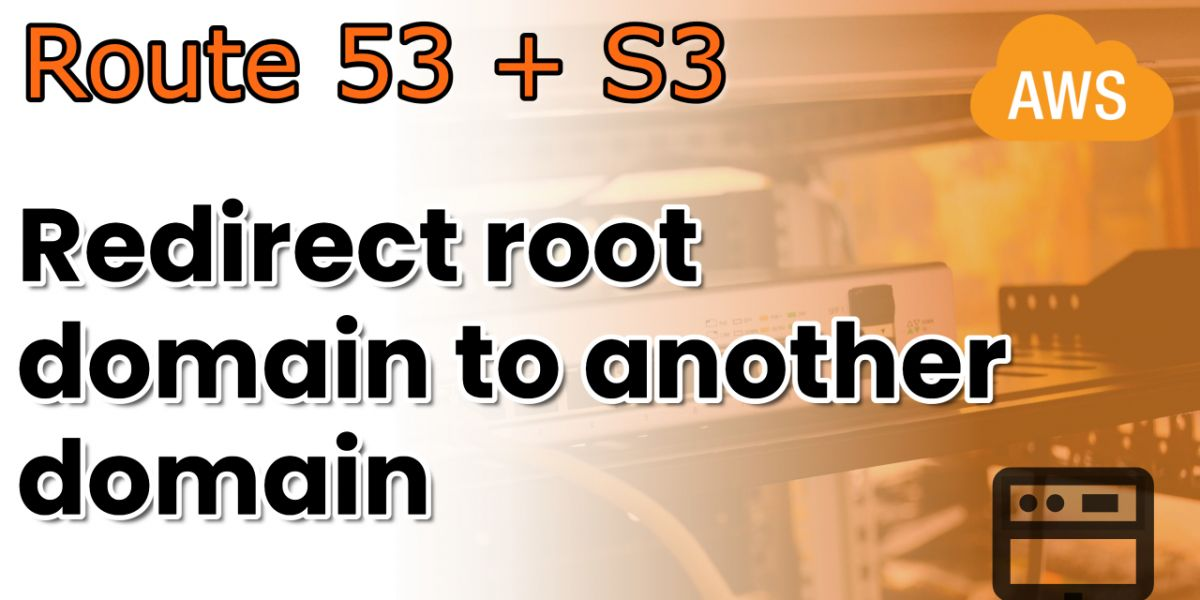 Redirect a root domain to another domain with Route53
